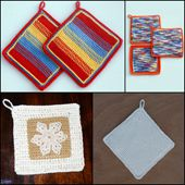 Free Patterns for Crocheting Potholders
