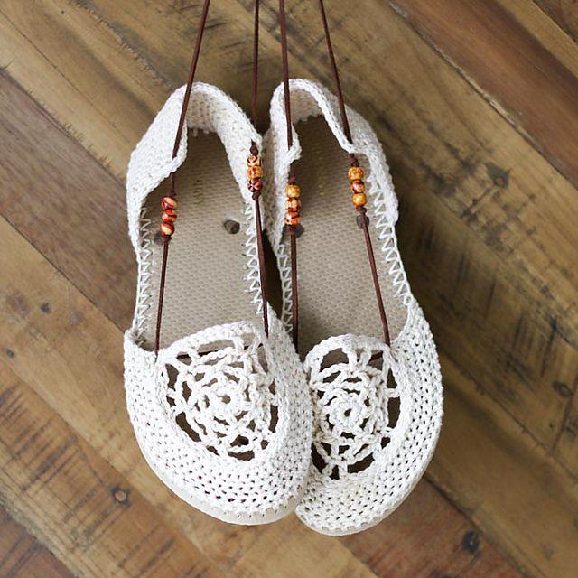 Crochet Shoe Shoes Free Pattern