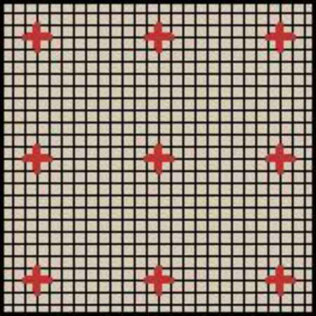 How To Grid Your Cross Stitch Fabric