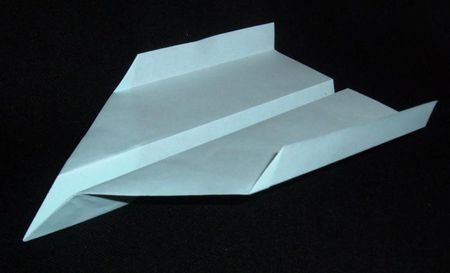About The Dart Paper Plane