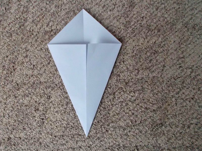 Easy Origami Ghost Craft For Halloween