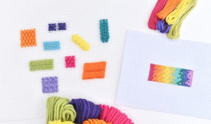 Needlepoint and Cross Stitch Samples