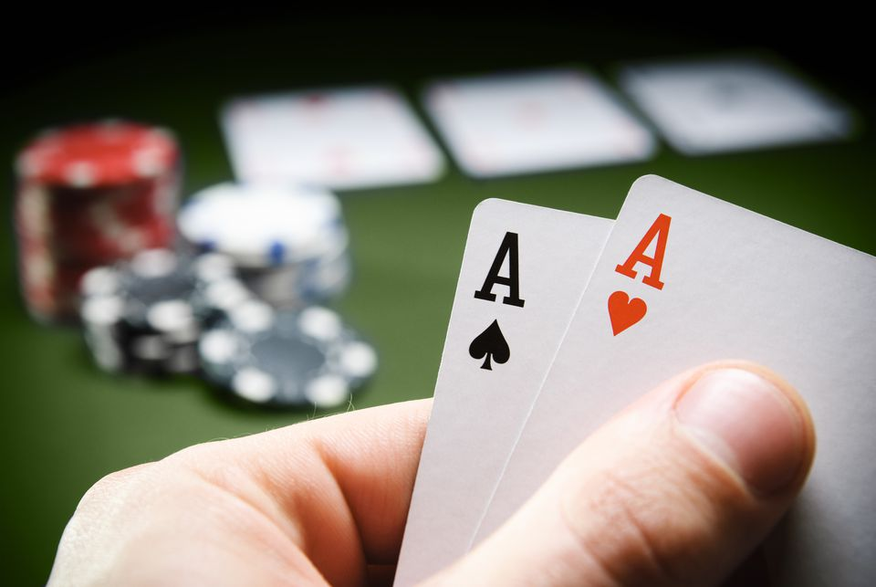 Winning Hand of Aces