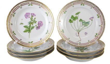 Flora Danica Dinnerware by Royal Copenhagen