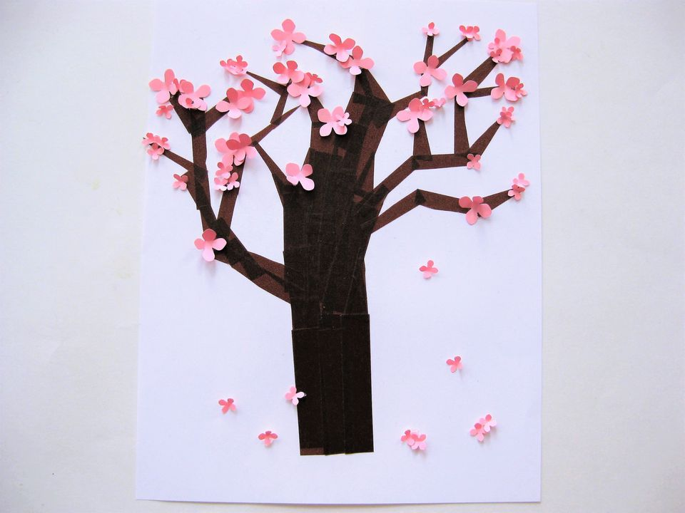 Cherry Blossom craft project