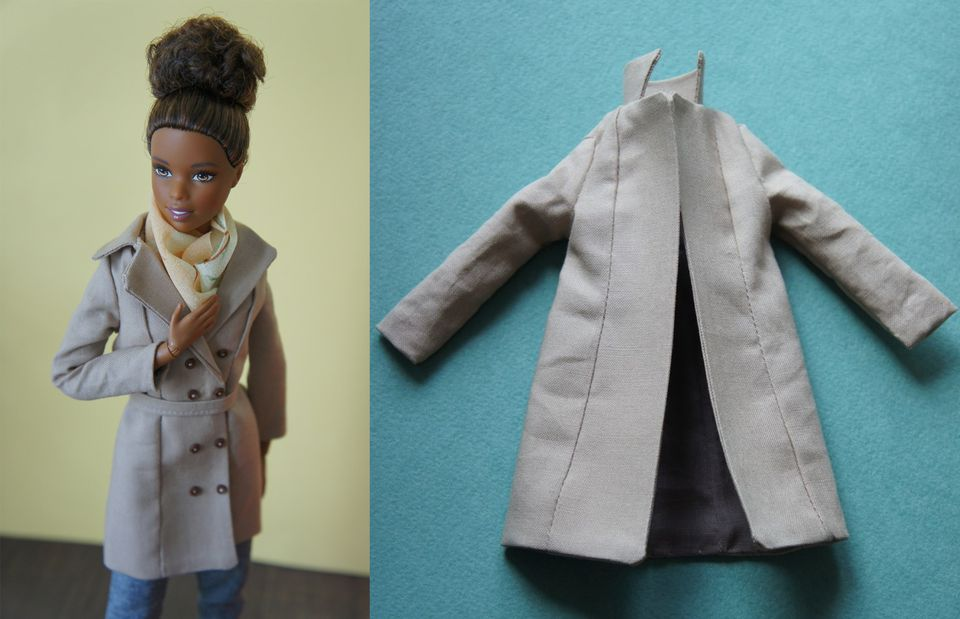10 Free Sewing Patterns for Barbies Clothes