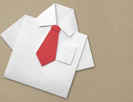 Origami Tie