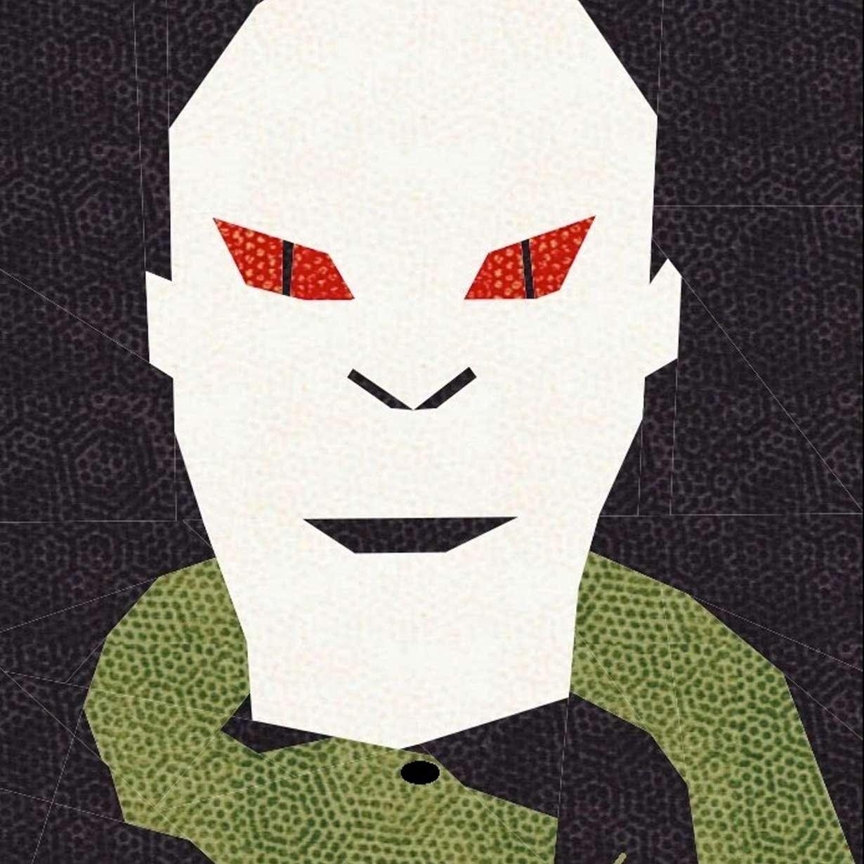 Voldemort Quilt Block Pattern