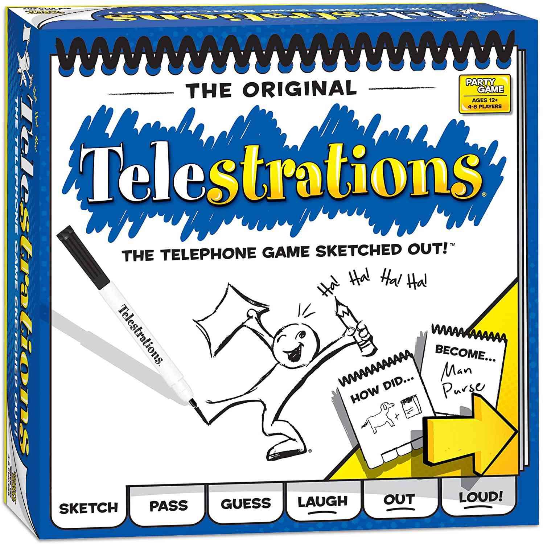 Telestrations Telephone Game