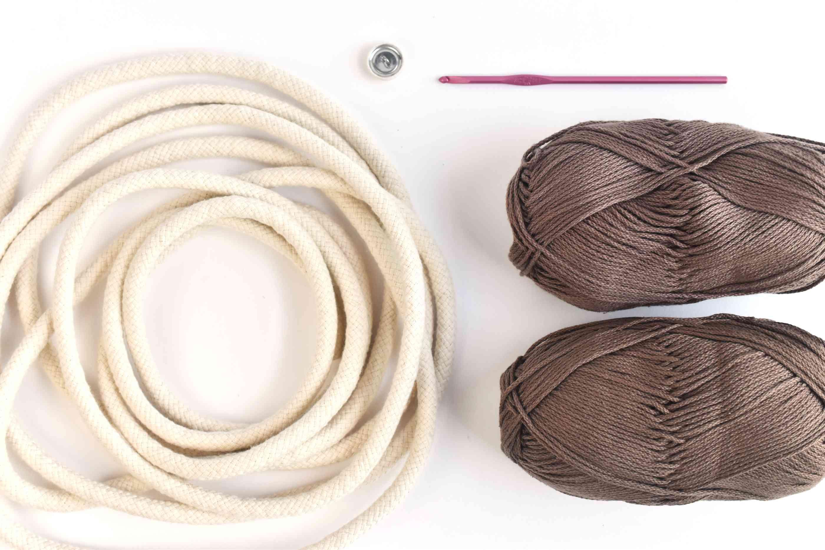 Crocheted Circle Bag Supplies