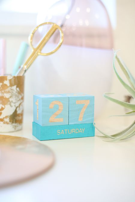 How To Make A Perpetual Block Calendar