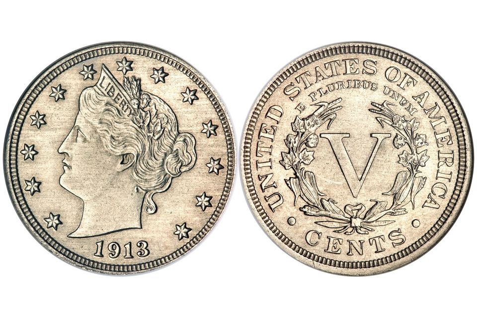 The Olsen Specimen of the 1913 Liberty Head Nickel Graded NGC PR-64
