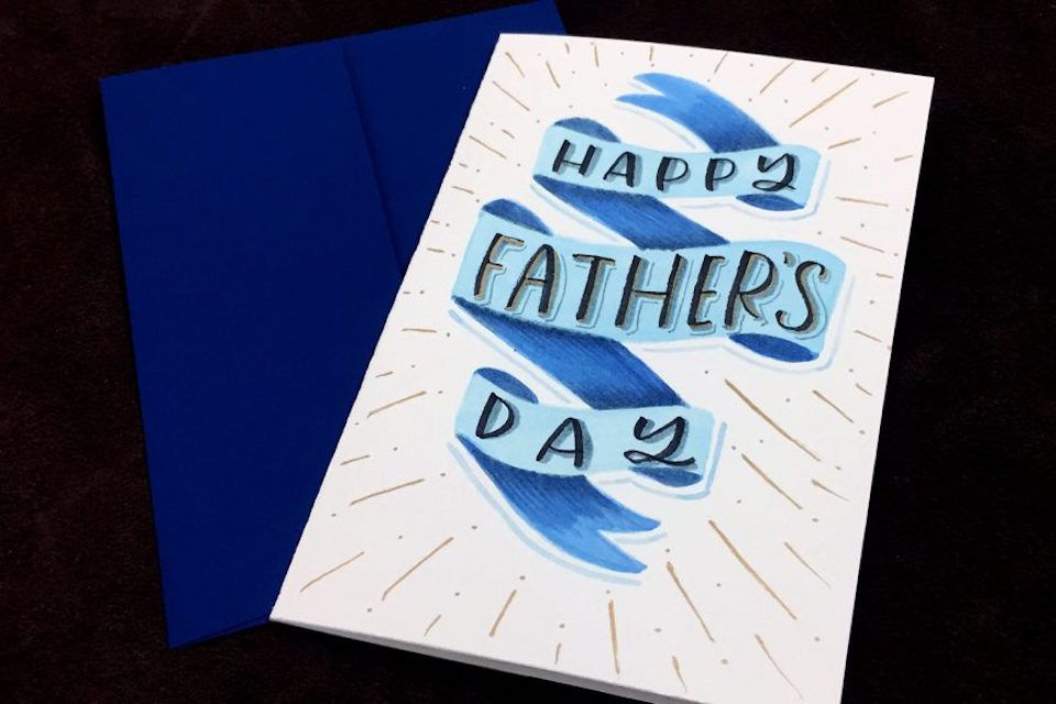 19 DIY Father's Day Cards Dad Will Love