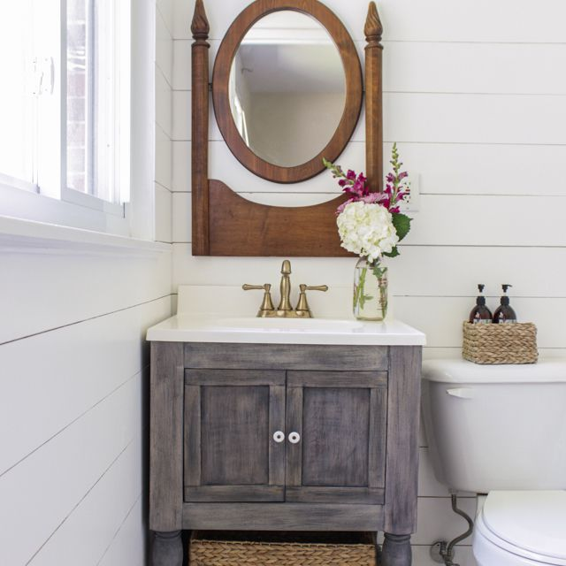 A Small Diy Bathroom Vanity