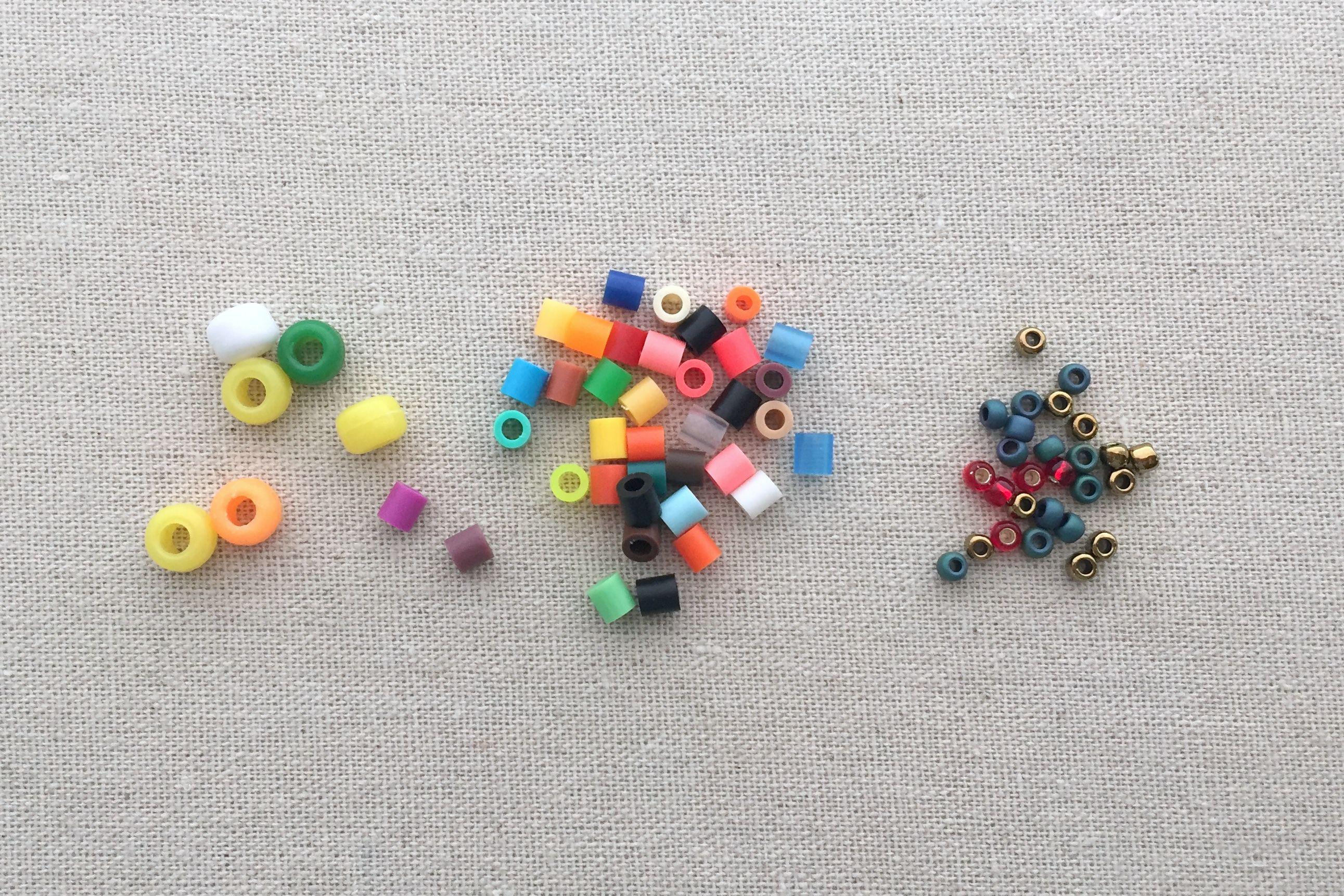 Comparing Perler, Pony and E beads