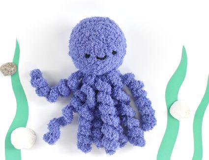 How to Crochet an Octopus