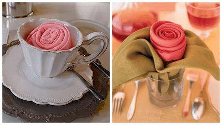 How to make a beautiful origami napkin rose origami rose napkin tutorial mightylinksfo