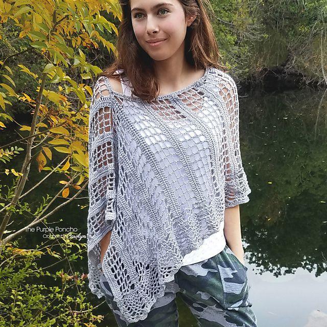 21 Free Crochet Poncho Patterns