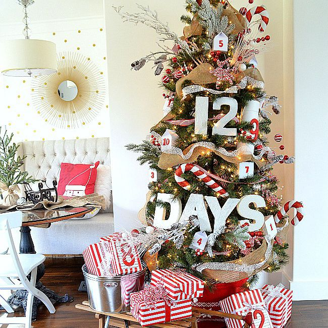 Tree ornament Advent calendar