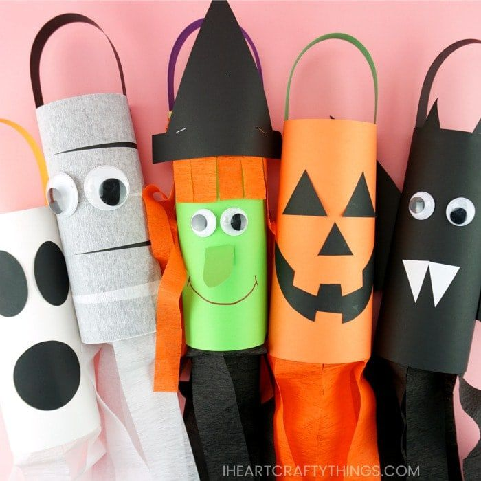 Windsock DIY Halloween craft
