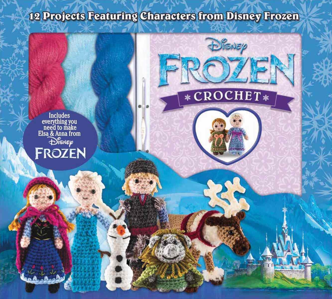 Frozen character crochet kit