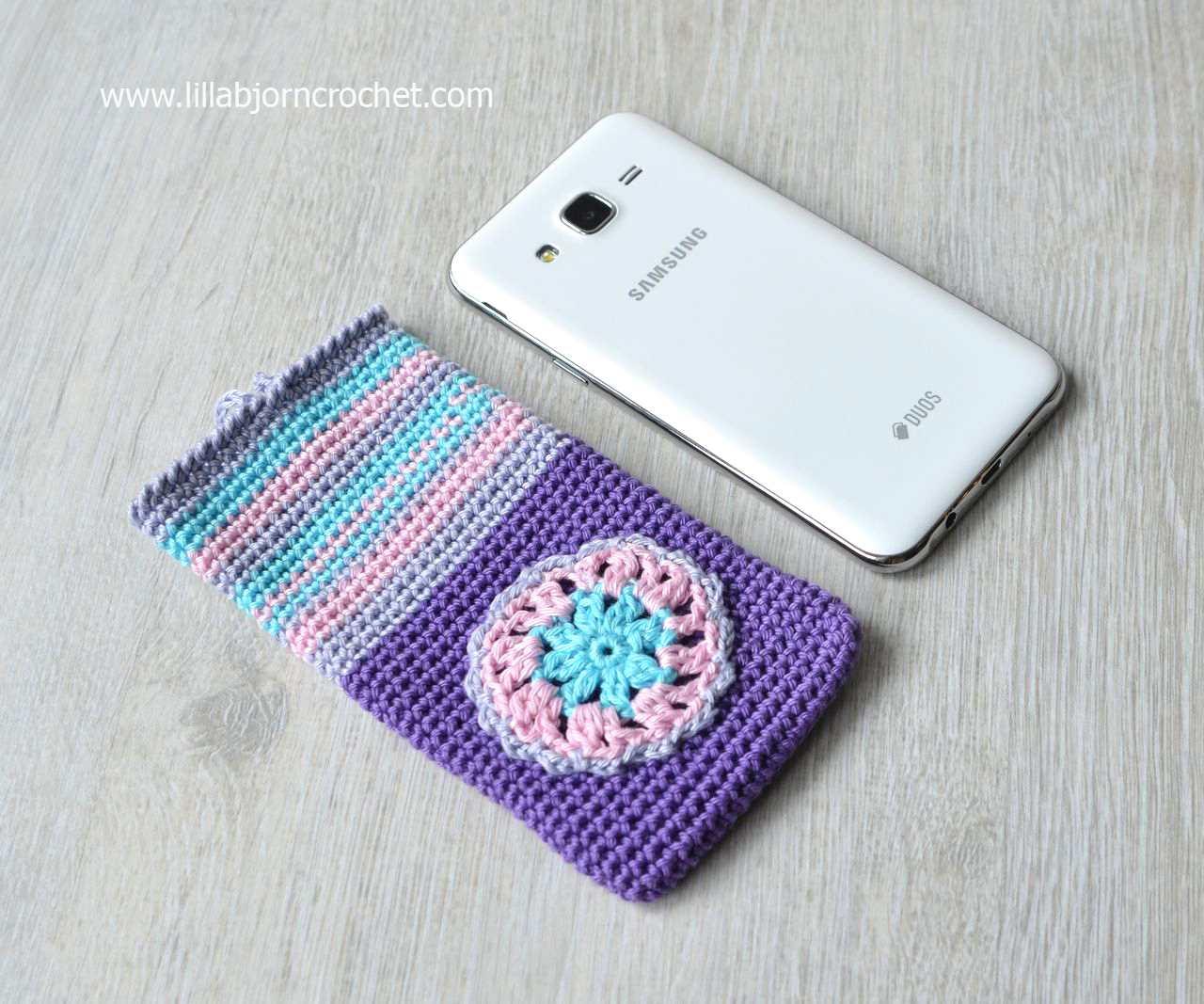 Crochet Cell Phone Cozy Free Pattern