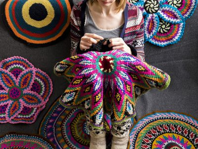 20 Terrific Free Crochet Patterns With Tall Stitches