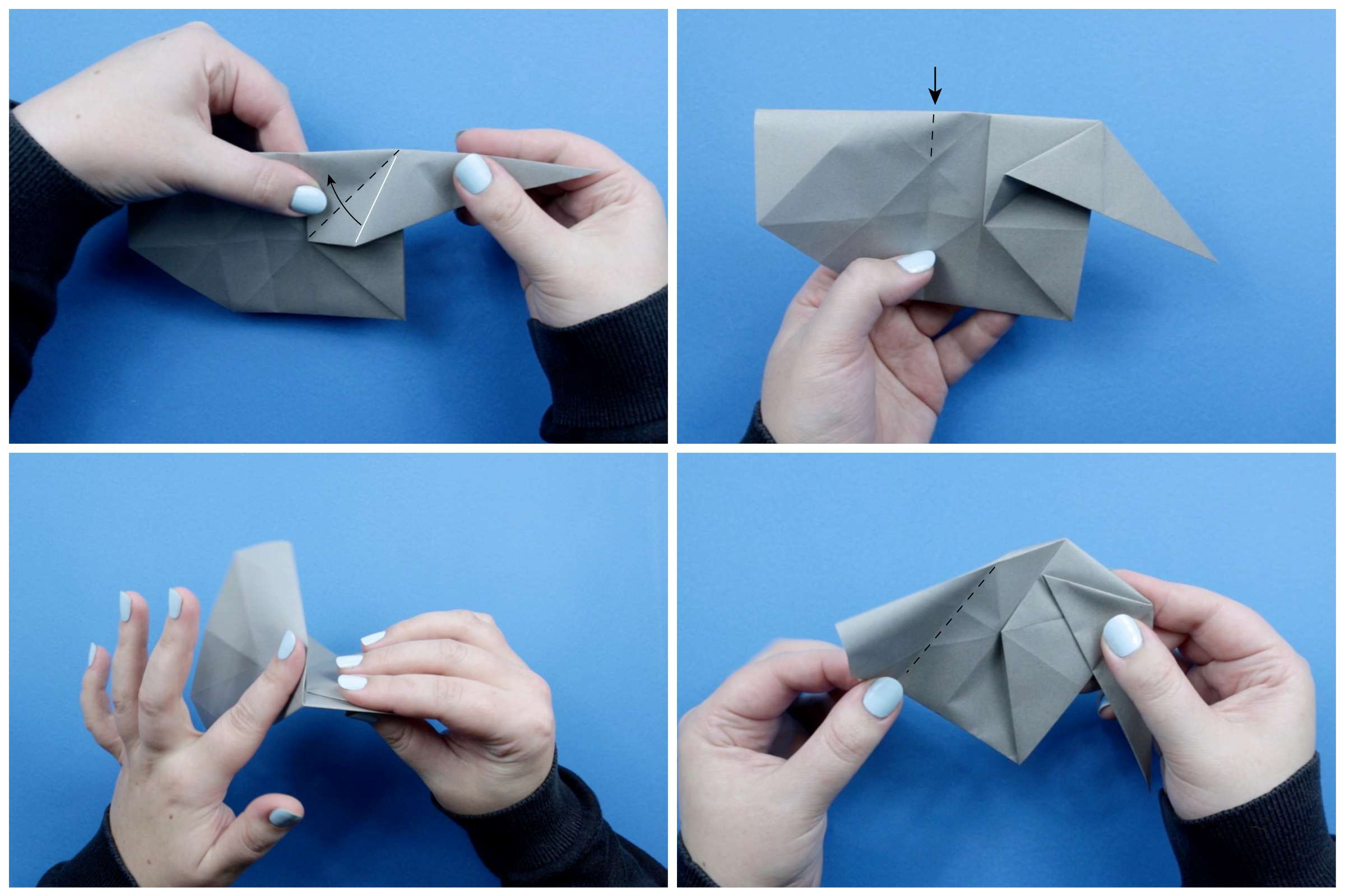 How To Make An Origami Elephant Pics Photos Butterflies Diagrams Hard Instructions