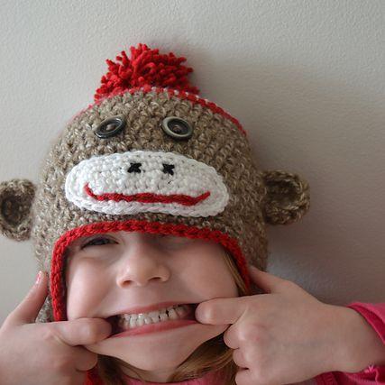 10 Free Sock Monkey Crochet Patterns