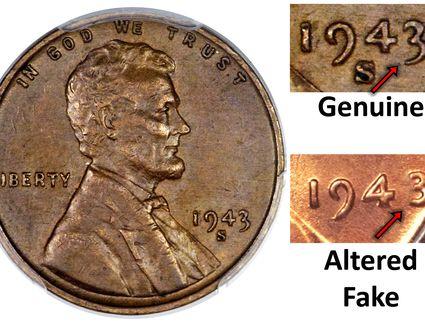 Diagnostics for a Genuine 1943 Copper Penny