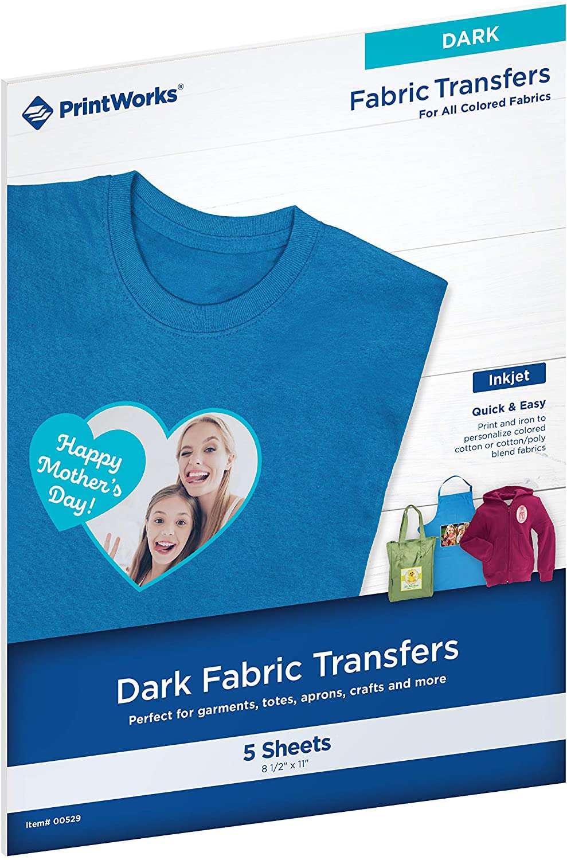 PrintWorks FABRIC TRANSFERS DARK