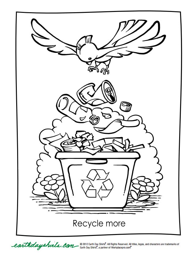126 Free Printable Earth Day Coloring Pages