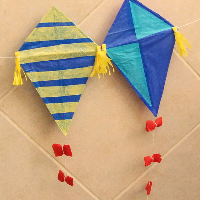 kids kite craft
