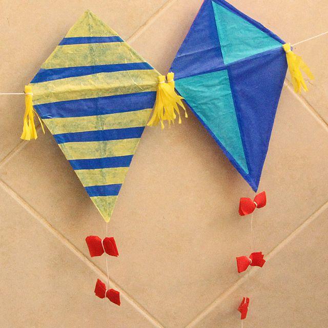 kids kite craft
