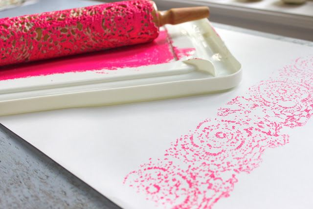 Make Lace Prints