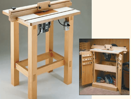 9 free diy router table plans you can use right now a wooden router table keyboard keysfo Gallery