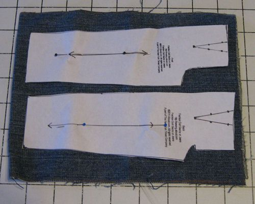 Pattern to Sew Barbie Size Fashion Doll Jeans or Pants