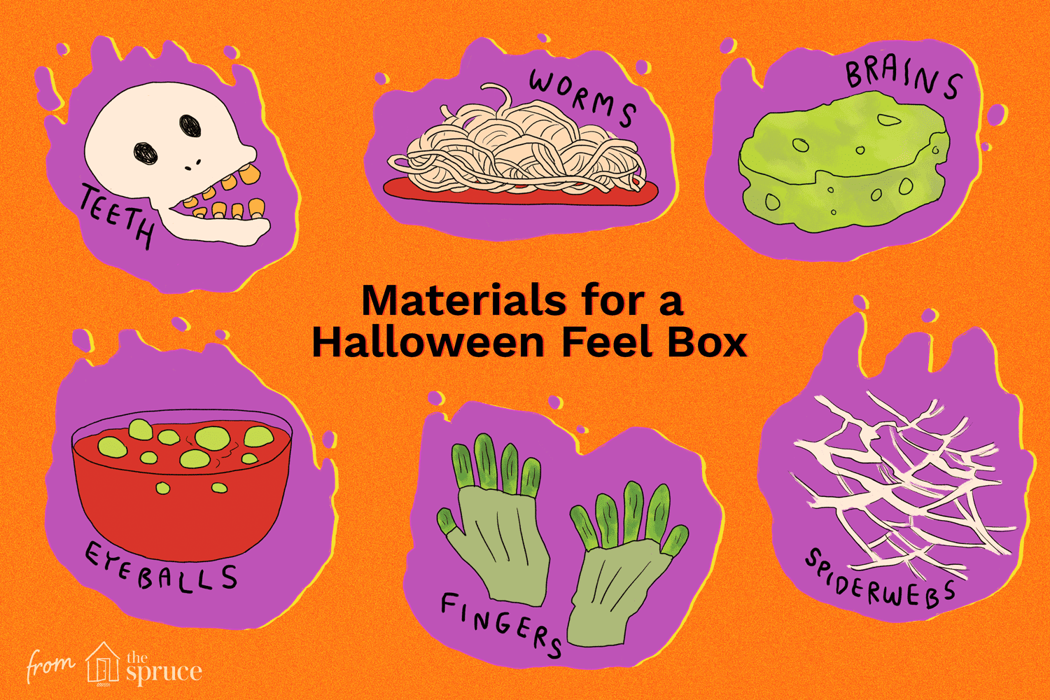 how to create and share a scary halloween feel box