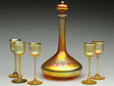 Tiffany Glass Marks Authentic Examples