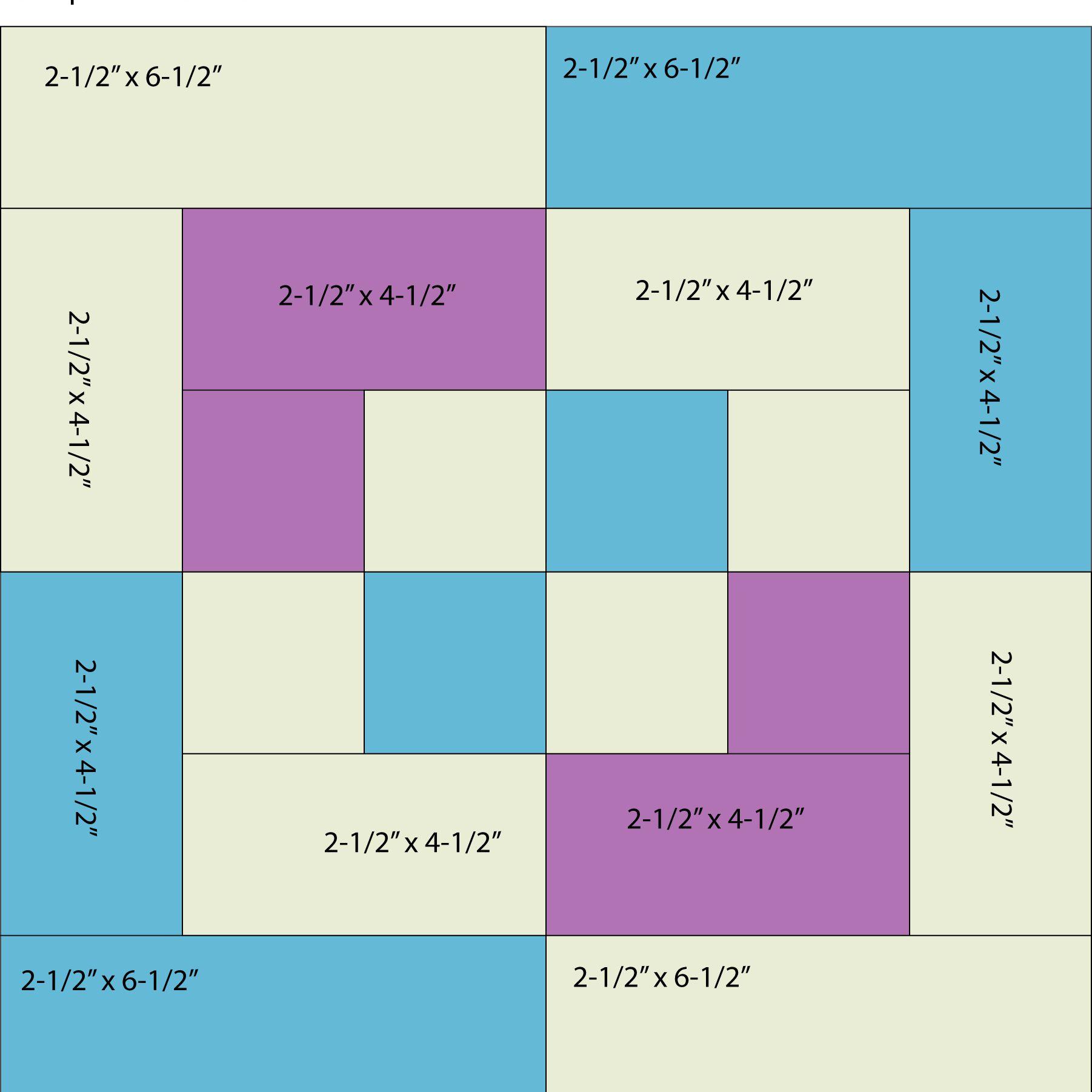 Bento Block Patch Sizes