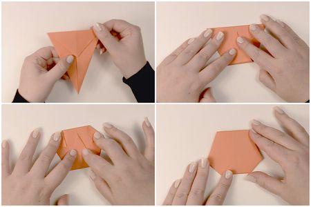 Modular Origami Pumpkin Instructions