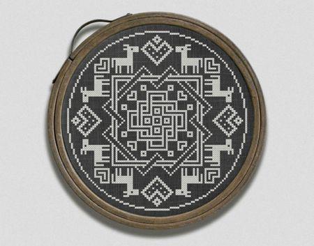 10 Hygge Inspired Cross Stitch Patterns