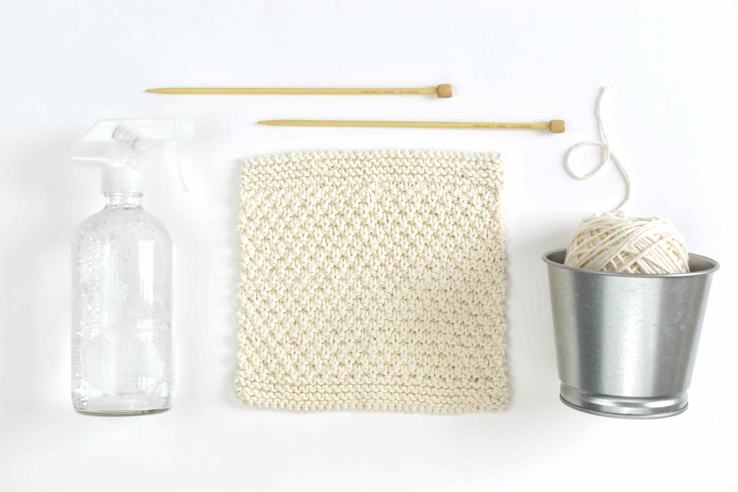 Learn How to Knit Your Own Dishcloths With This Free and Easy Pattern