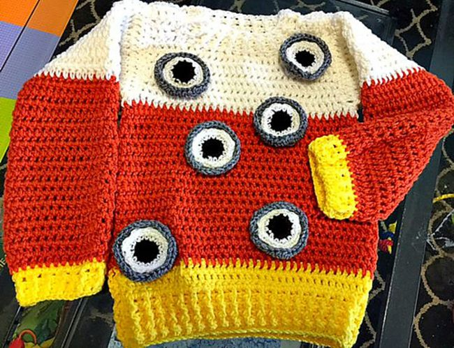 Eye Candy Crochet Costume Free Pattern