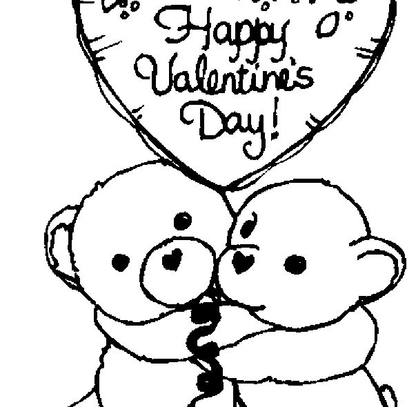 15+ Valentine's Day Coloring Pages for Kids - The Artisan Life | 590x590