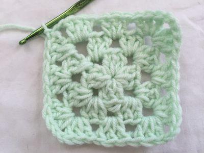 How To Crochet Diagonal Square