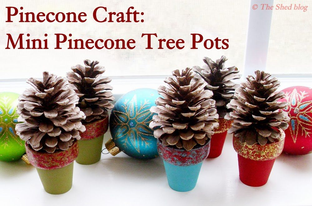 12 Pine Cone Crafts For Kids