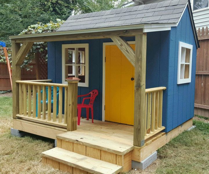 Awe Inspiring 13 Free Playhouse Plans The Kids Will Love Interior Design Ideas Clesiryabchikinfo