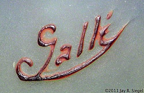 The mark of Emile Gallé