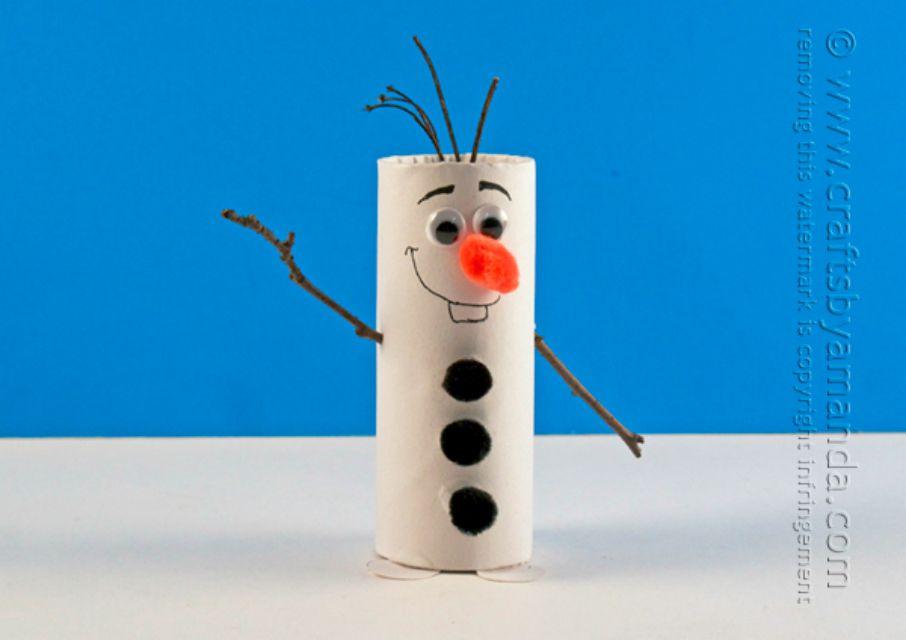 Paper roll Olaf